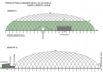 New construction of an air dome