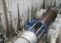 Cooling water pipes DN3600 - RDK8, Karlsruhe